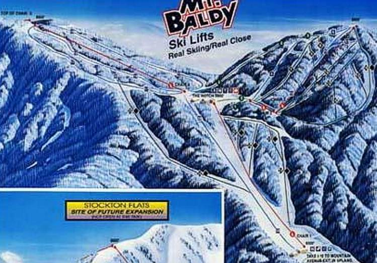 Mt Baldy - Mt baldy map on map of us